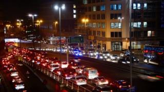 Traffic in Birmingham