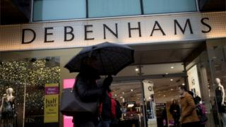 Debenhams Oxford Street store