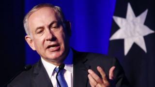 इसराइली प्रधानमंत्री बेन्यामिन नेतन्याहू