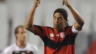 Ronaldinho retired from football in 2015