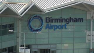 Birmingham Airport - archive generic image