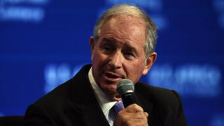 Stephen Schwarzman, Chairman, CEO and Co-Founder, Blackstonespeaks during the panel Powering Africa: Leading Developments In Infrastructure on August 5, 2014, at the US-Africa Leaders Summit in Washington, DC.