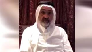 قال الشيخ عبد الله آل ثاني إنه محتجز في أبو ظبي