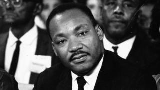 September 1964: American clergyman and civil rights campaigner Martin Luther King (1929 - 1968).