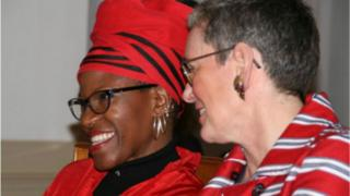 Mpho Tutu-van Furth n'umukunzi wiwe