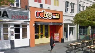 Retro nightclub in Cardiff