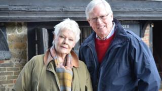 Dame Judi Dench and John Craven