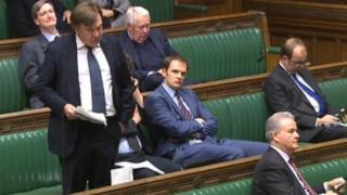 Dan Poulter MP in the House of Commons