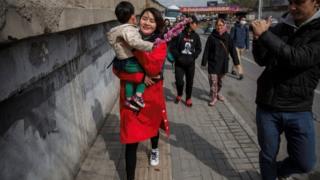 Li Wenzu is walking from Beijing to Tianjin