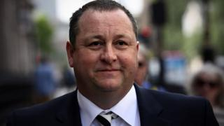 Sports Direct International founder Mike Ashley