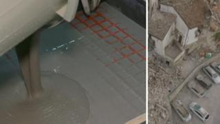 مواد داعمة للمنشآت لمنع انهيارها أثناء حدوث زلزال
