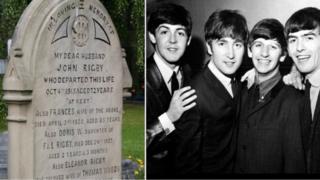 Eleanor Rigby grave/Beatles