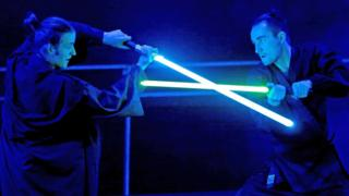 Lightsaber dueling now a recognised sport