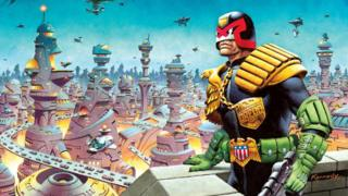 Judge Dredd by Ian Kennedy