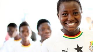 Ghana women footballer