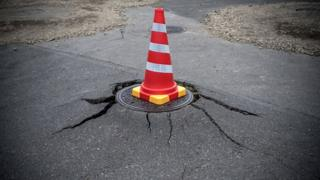 Cone for road