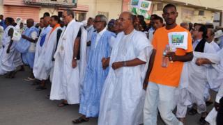 manifestation Mauritanie