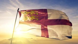 A Sark flag