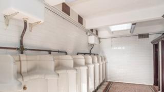 restored toilets