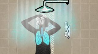 душ і мікроорганізми