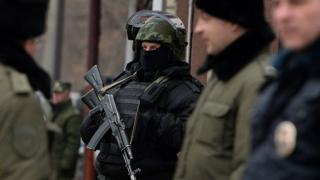Rus çevik kuvet polisi (Arşiv fotoğraf)