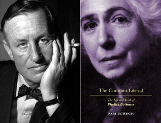 Ian Fleming and the cover of Phyllis Bottome's biography