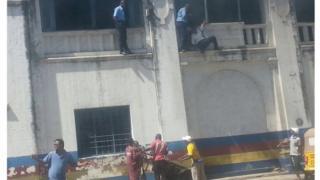 Kituo cha police cha Central mjini Mombasa Kenya