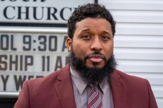 in_pictures Uzziah Harris was the only person to stand against the resolution at a local meeting