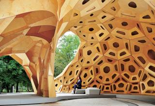 'Research Pavilion' by University of Stuttgart ICD and ITKE - Germany