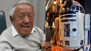 Kenny Baker in 2007, R2-D2
