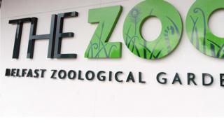 Belfast Zoo sign