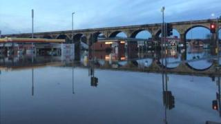 Flooding in Kirkstall
