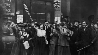 Celebrations in November 1918