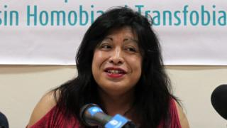 Well-known Argentine activist for the rights of lesbians, gays, bisexual and transgender people (LGBT), Diana Sacayan