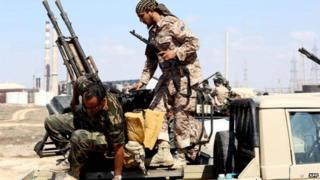 Wapiganaji nchini Libya