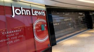 Closed John Lewis store in Birmingham