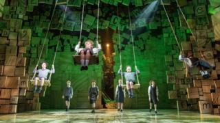 A scene from Matilda the Musical