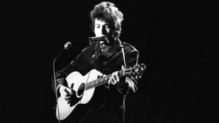 Bob Dylan performs for the BBC in 1965