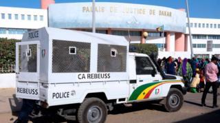 Le tribunal de Dakar lors d'un procès populaire. (Illustration)