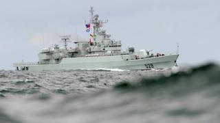 sports A file photo of a Chinese People's Liberation Army warship