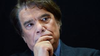 A photo taken on November 15, 2013 shows French businessman Bernard Tapie
