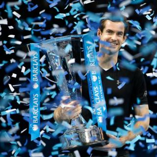 """Great Britain""""s Andy Murray celebrates"""