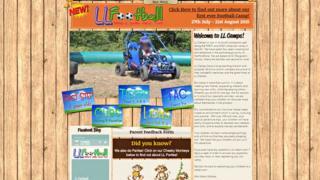 LL Camps website