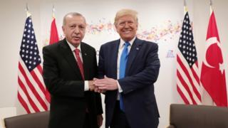 أردوغان او ټرمپ