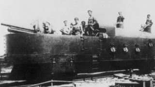 Красный бронепоезд в Сибири (1918 год)