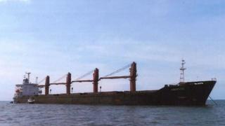 این کشتی کره شمالی در ماه آوریل ۲۰۱۸ در اندونزی توقیف شد
