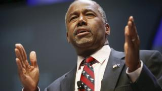 Ben Carson (pictured), a retired neurosurgeon, has not yet apologised for his remarks