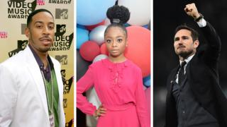 What do Ludacris, Skai Jackson and Frank Lampard