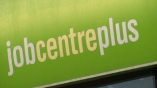 Jobcentre Plus sign