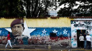Mural em Caracas